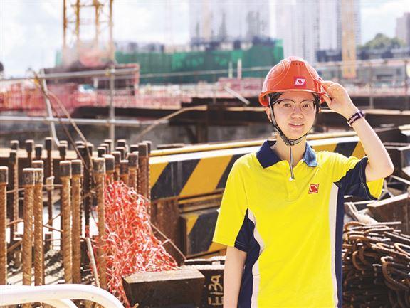 李鳳珍說,年輕人如想應徵學徒職位,需展現對建築工程行業的熱誠。