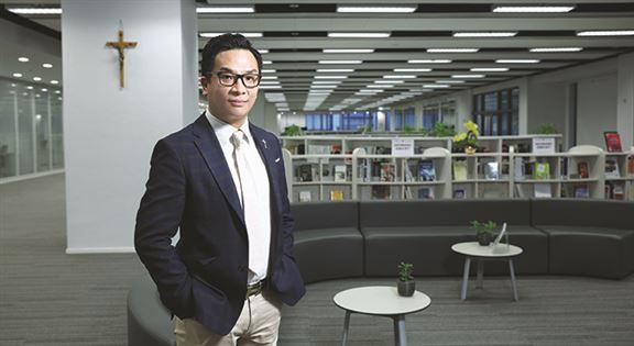 李家禧稱,各行從業員積極增值,投資未來,是抗逆最佳選項。