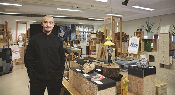 林仲強說,設計師不單要善於創作,還需具備企業家精神。