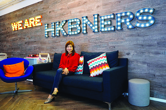 黃潔儀說,「成就更美好家園」理念貫徹於香港寬頻業務和人才發展。