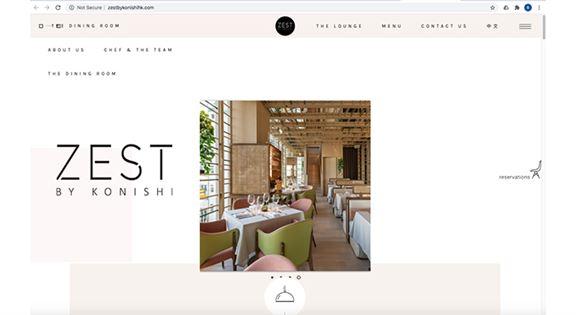 BoBo與團隊的網頁設計作品之一。