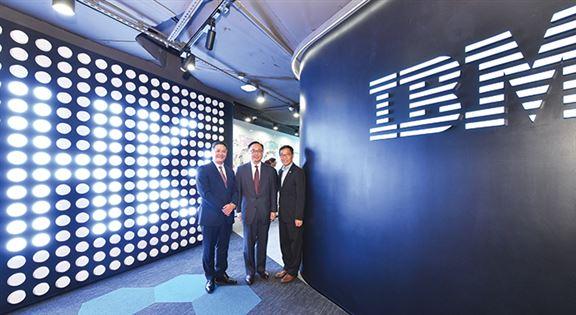 IBM創新中心去年成立,連接全球12間IBM實驗室。