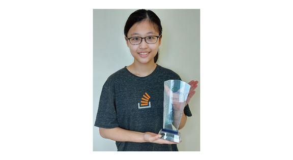 蔡青琳說日後希望成為一位機器學習研究人員。