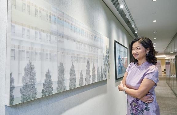 葉楊詩明說,大華銀行一直支持藝術發展,成立「藝·坊」舉辦年度藝術比賽、外展活動,及各類藝術合作項目,讓公眾有更多機會接觸藝術,培育藝術人才。