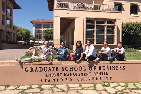CY好學不倦,2018年到美國修讀了為期6星期的 Stanford Executive Program,於企業策略、創新及領導力等方面深受啟發。
