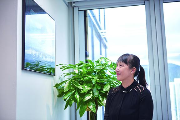 朱怡菁說,「build team」是管理重任,令團隊上下一心。
