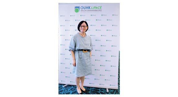 香港公開大學李嘉誠專業進修學院健康及科學學部主管蕭麗嫦博士