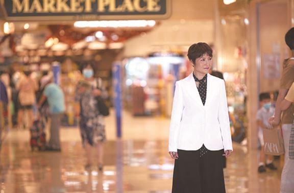 梁翠珊說,市場瞬息萬變,從事商場推廣需敢於突破,準確捕捉機會。