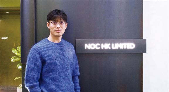 梁達說,NOC是「Not Only Coffee」的縮寫,店舖除了咖啡,環境體驗亦重要,分店以混凝土、淺色原木及亮白色營造平靜簡約風格。