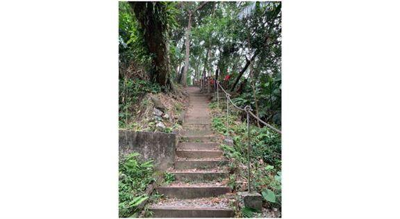 樓梯、樓梯……全程幾乎都在爬樓梯……