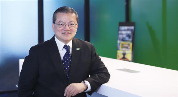 馮國雄說,物管是長青行業,行情不太受經濟起跌所影響,長遠樓宇供應持續增加,行業需吸納更多人才入行。
