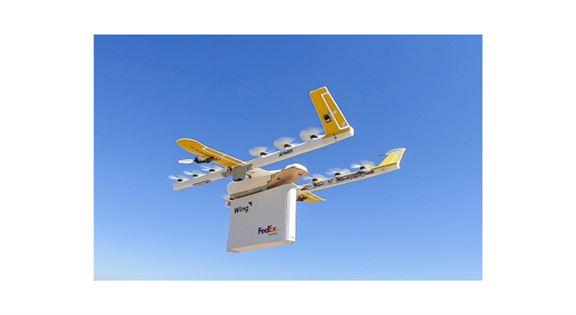 近年物流快遞行業加強科技研發,應用無人機也是未來方向之一。