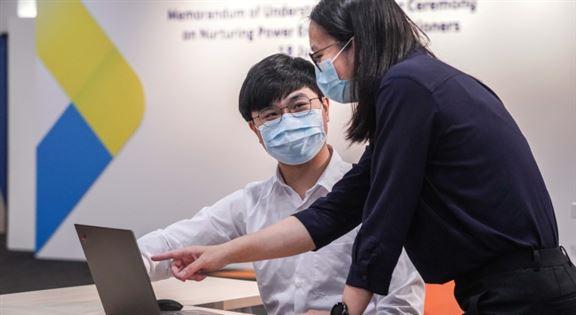吳浩天建議求職者細心觀察,深入了解公司業務。