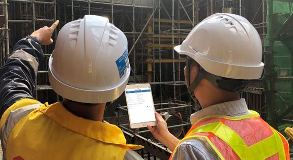 創新數碼科技Inspecto提升地盤檢測的透明度。