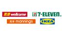 wellcome / 7-Eleven / mannings / Ikea